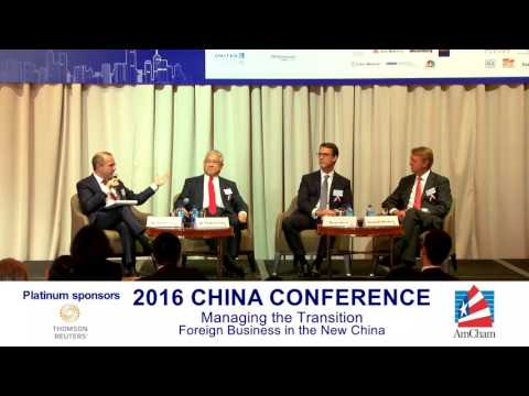 China Conference 2016 - Finding Paths in the New China