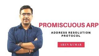 PROXY ARP in hindi|| promiscuous arp ||