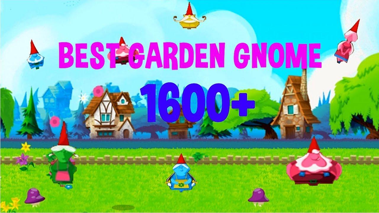 BEST GARDEN GNOME for high score 1600+ , Garden Gnomes Google Doodle  Gameplay