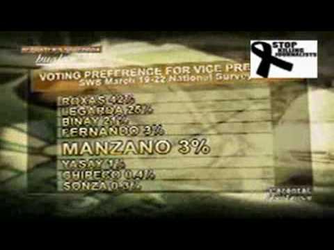 Edu Manzano for Vice Pres. Ulat ni Rhea Santos