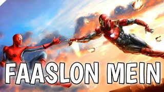 fAASLON MEIN PETER AND TONY || IRON MAN AND SPIDER MAN VIDEO SONG || SUPER DUPER
