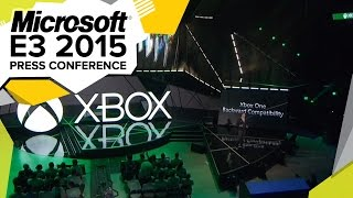 Xbox One Backwards Compatible!  - E3 2015 Microsoft Press Conference