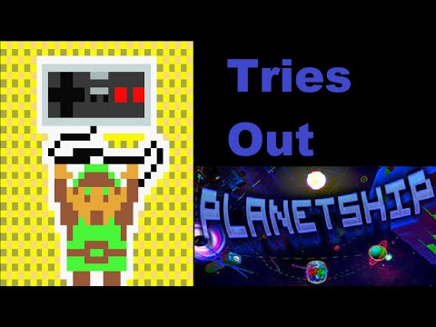 Planetship - Let's Try Out - I LOVE This Game!