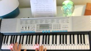 How to Play ~ Rock of Ages, Cleft For Me ~ Classic Hymn ~ LetterNotePlayer ©