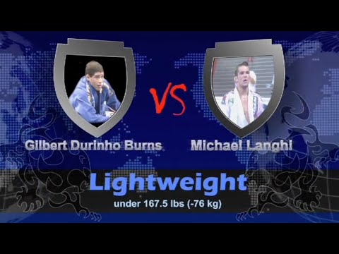 "Michael Langhi VS Gilbert ""Durinho"" Burns / World Championship 2009"