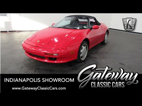 1991 Lotus M100 Elan For Sale Gateway Classic Cars Indianapolis  #1429