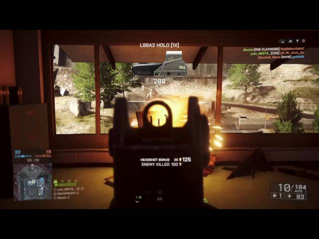 Battlefield 4 L86 Spree