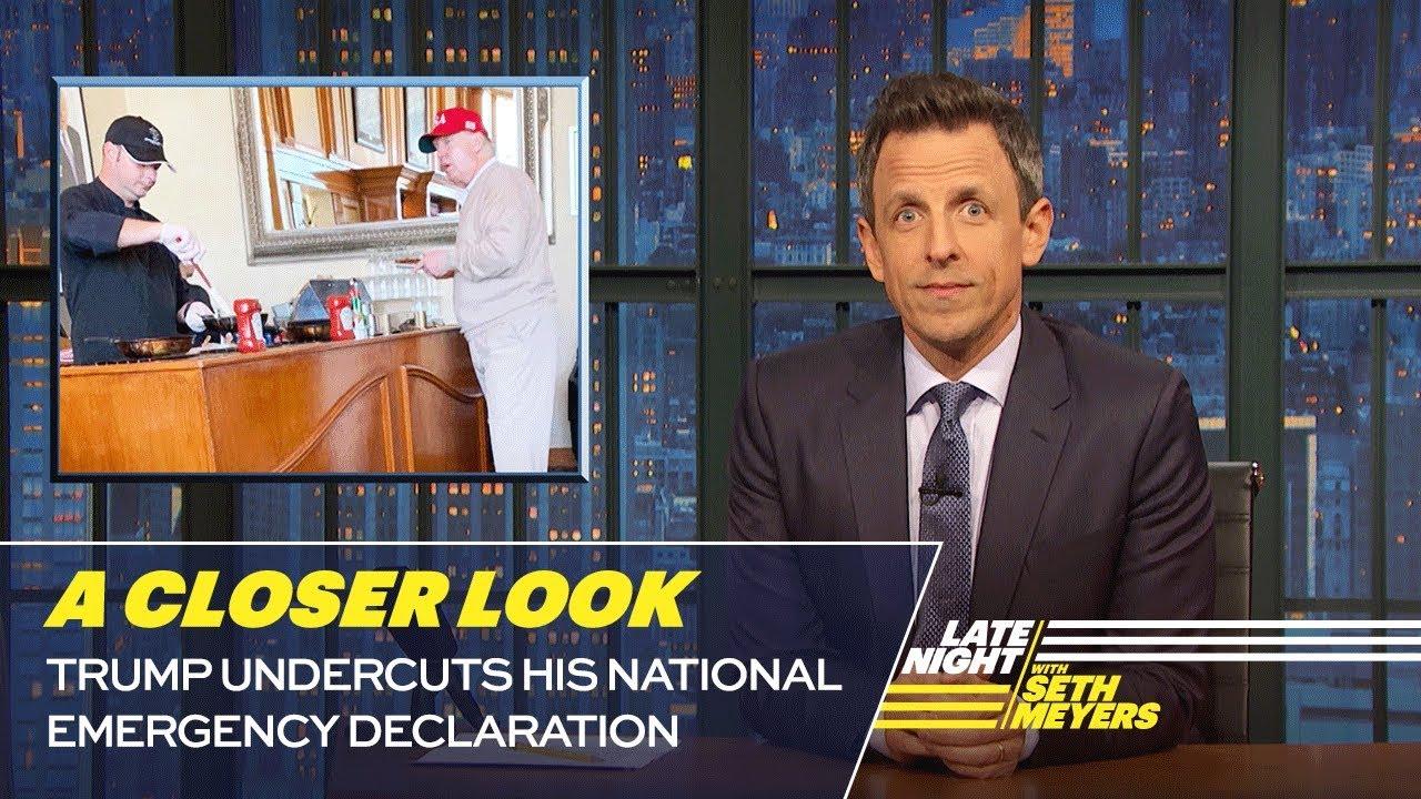 Trump Undercuts His National Emergency Declaration: A Closer Look