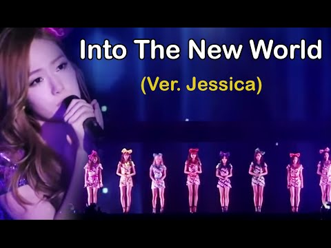 SNSD - Into The New World Ballad (have Jessica's voice )