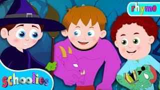 Trick Or Treat |  Halloween Songs For Kids | Schoolies