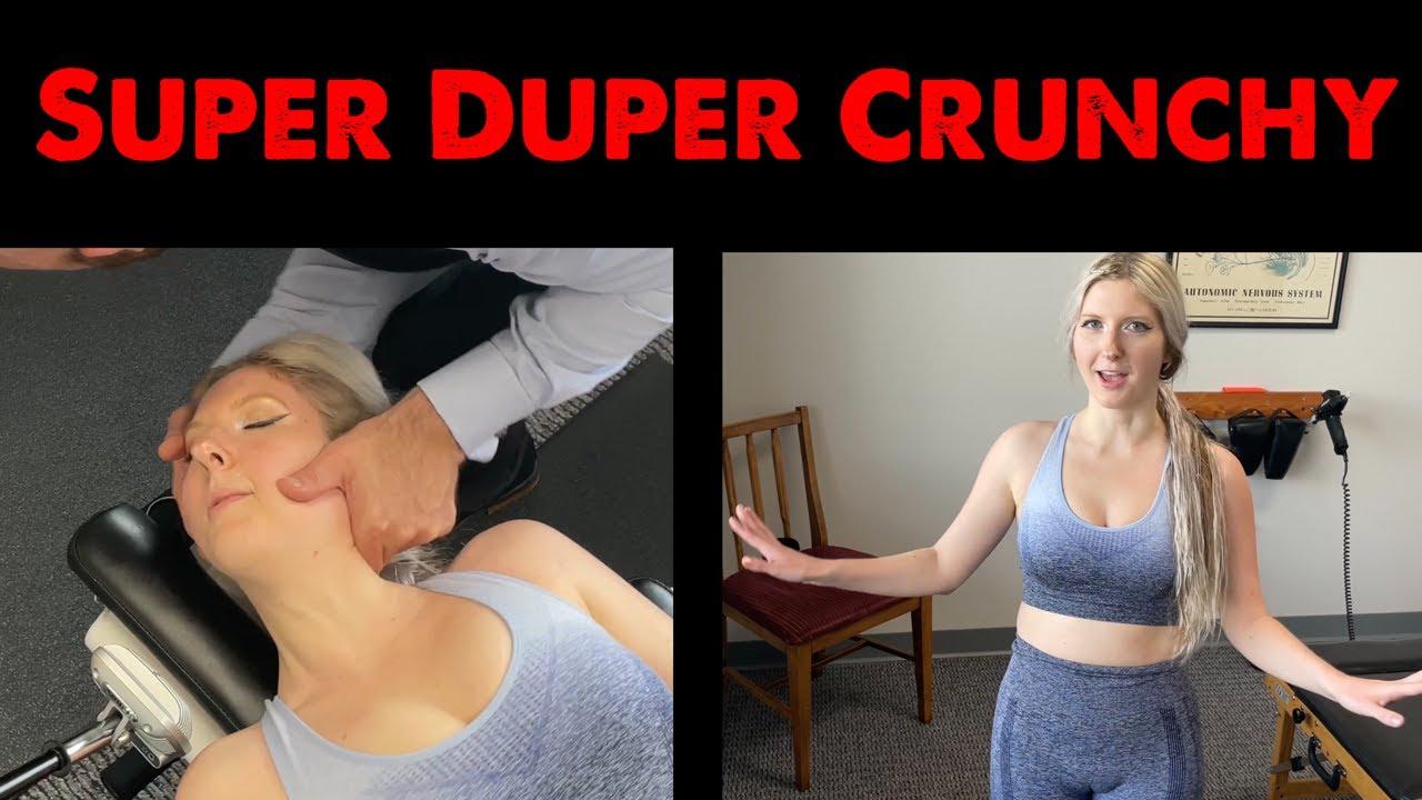 Crispy Neck Cracking + Crunchy Joints ~  Relax w/ Cracks ASMR Chiropractic Adjustments 47.