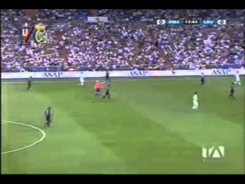 LIGA DE QUITO VS REAL MADRID PRIMER TIEMPO