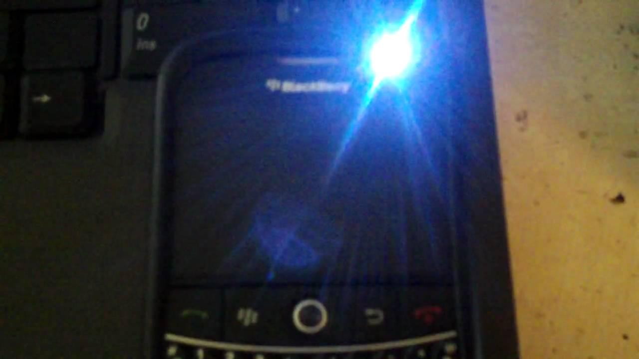 Blackberry green flashing light verses orange — pic 5