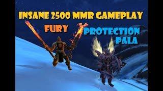 Protection Paladin [2500 mmr] [Insane 2v2 Gameplay] [Ft. Fury]