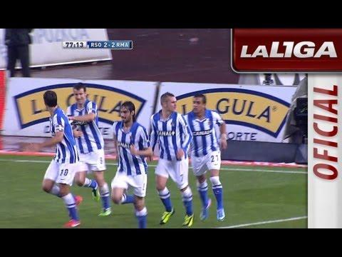 Resumen De Real Sociedad (3-3) Real Madrid - HD - Highlights