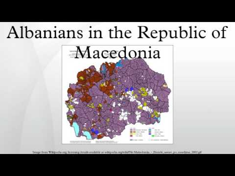 Albanians in the Republic of Macedonia
