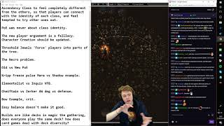 Tarke here with a bit of a meta overall game design discussion of t...