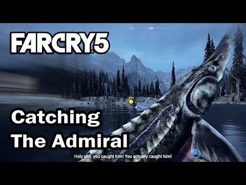 Far Cry 5 - Catching The Admiral (Unlock Wonderboy Fishing Rod)