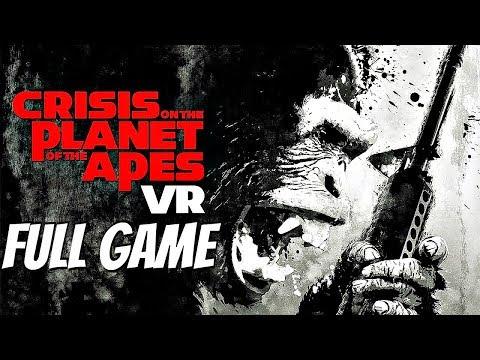 Crisis On The Planet of The Apes VR - Gameplay Walkthrough Part 1 FULL GAME (PS4 PRO) 1080p 60fps