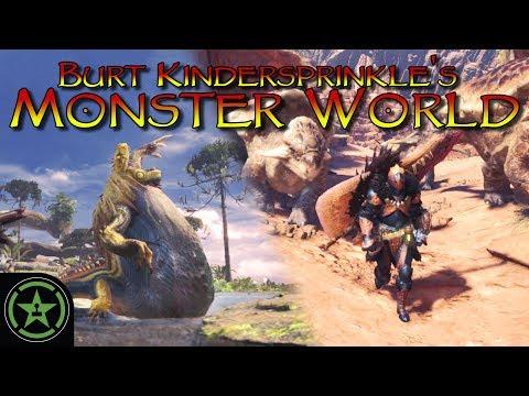Burt Kindersprinkle's Monster World (Game Action Theater)  