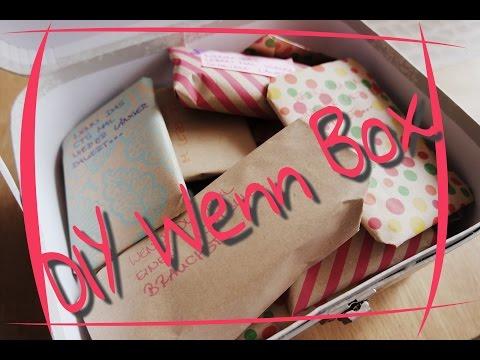 DIY Wenn-Box | Bastelstunde | Geburtstagsgeschenke | Mrs. Family