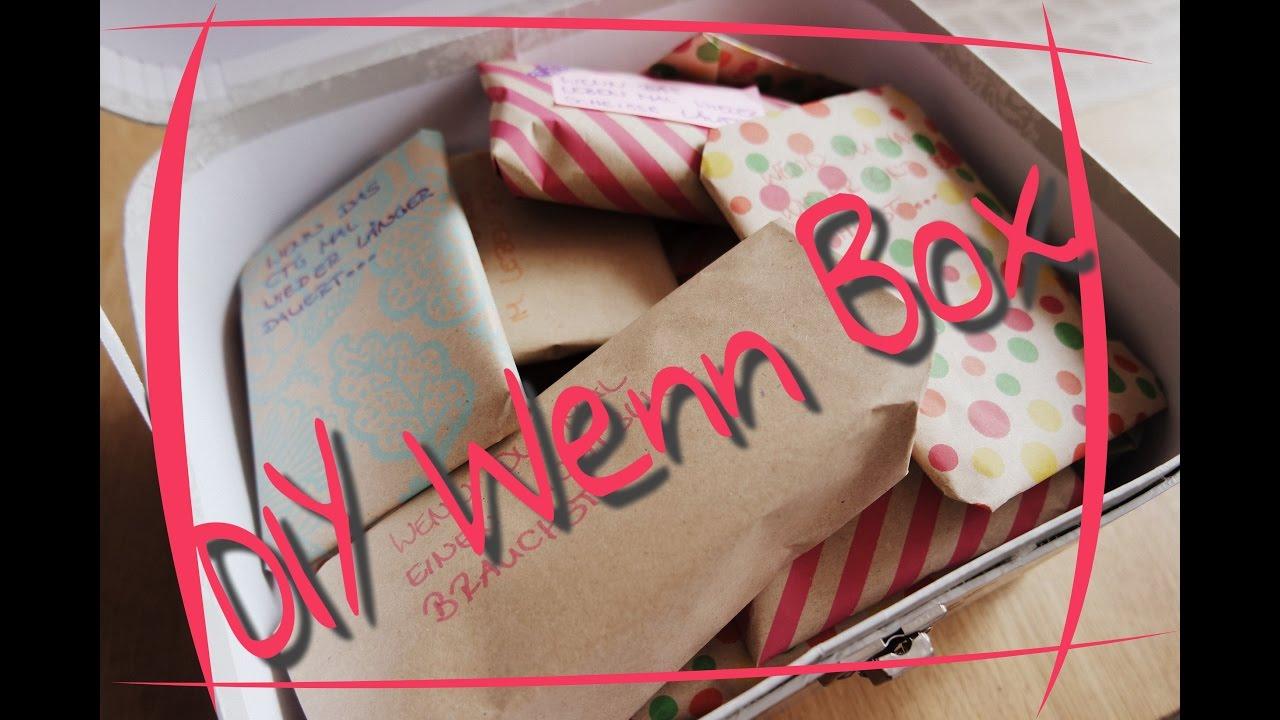 Diy wenn box bastelstunde geburtstagsgeschenke mrs - Wenn box ideen ...