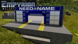 ENTRANCE HANGAR BAY | Empyrion Galactic Survival | Let's Play Gameplay | S15E12