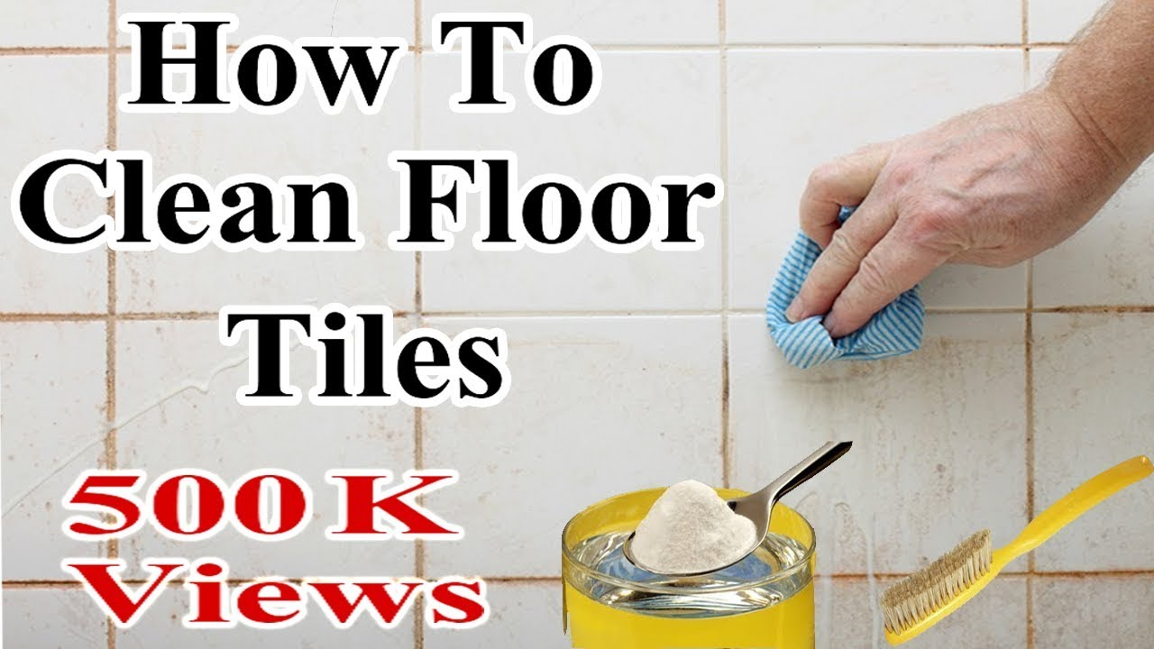 How To Clean Floor Tiles In One Minute - It\'s A Magical Tricks To ...