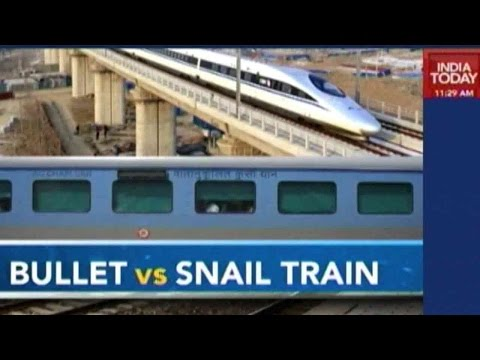 An Overview Of The Chinese Bullet Train Vs Shatabdi Express