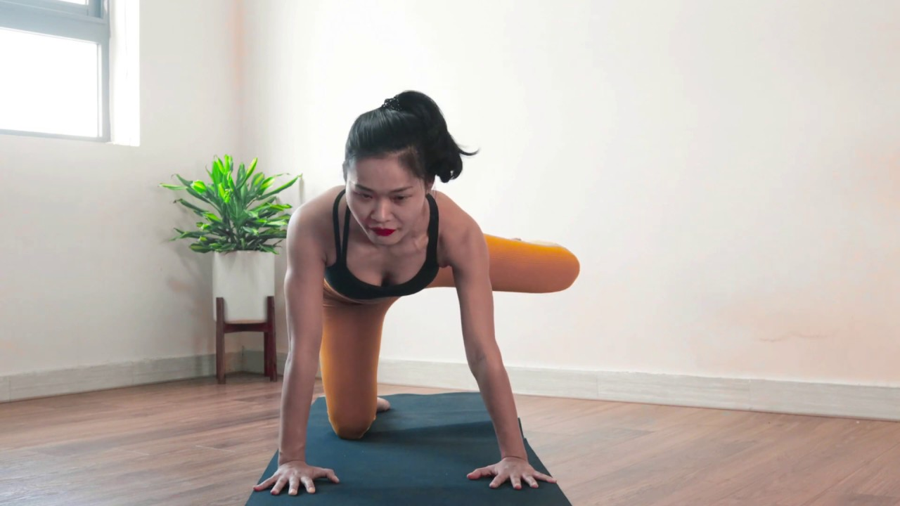 Mông căng tròn với 3 bài tập Pilates