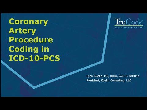 Coronary Artery Procedure Coding in ICD 10 PCS