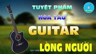 Tình Khúc Hòa Tấu Guitar Hải Ngoại Hay Bất Hủ - Nhạc Không Lời Nghe Em Dịu