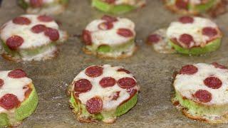 Так кабачки вы еще не готовили. Цукини-пицца. Лучший способ накормить детей кабачками!