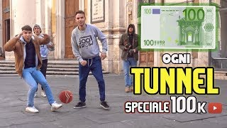 100€ SE RIESCI a FARCI TUNNEL !! FOOTWORK Italia vs ROMA