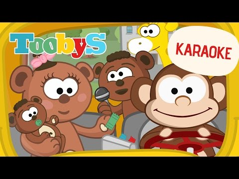Karaoke  Wheels on the Bus | Toobys | Your children's favorite videos
