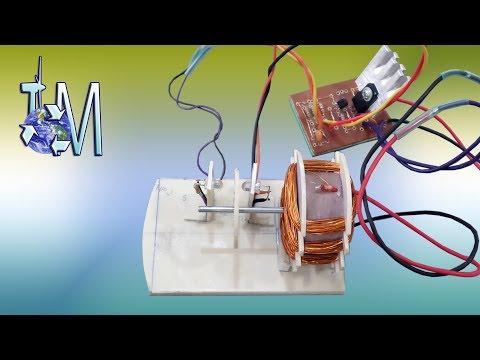 Improvisando Keppe Motor (teste sensor)