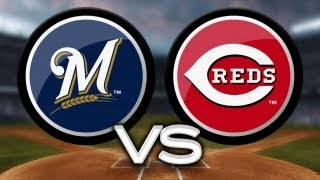 5/11/13: Bruce leads Reds in rout of Brewers