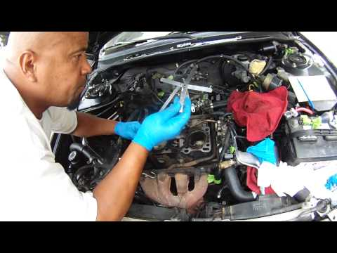 HOW TO CHECK CYLINDER HEAD AND ENGINE BLOCK DECK WARPAGE (EASY DIY)