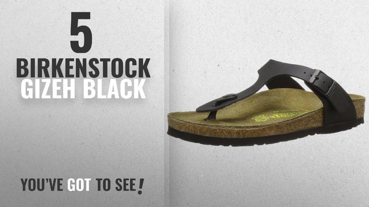 d73e56db234758 Top 5 Birkenstock Gizeh Black  2018   Birkenstock Women s GIzeh Thong Sandal