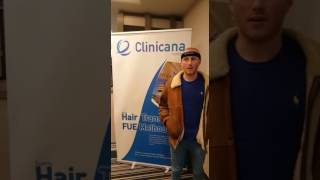 Testimonial from the UK regarding hair transplant 3000 grafts