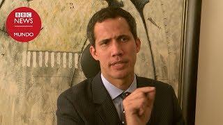 Entrevista con Juan Guaidó, el