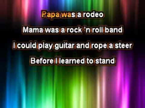 The Magnetic Fields - Papa Was a Rodeo [Karaoke]