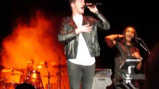 Andy Grammer performing Honey I'm Good at Busch Gardens Tampa