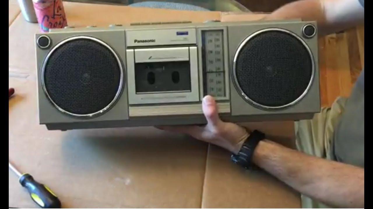 Vintage 80 S Boombox To Bluetooth Diy Upgrade