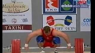2002 World Weightlifting 105 Kg Snatch