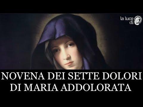 NOVENA DEI SETTE DOLORI DI MARIA ADDOLORATA