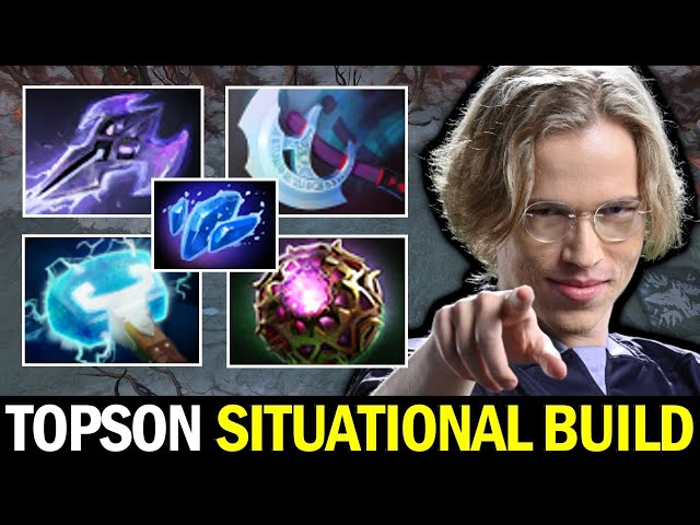 Guess the Hero — TOPSON MID Situational Build