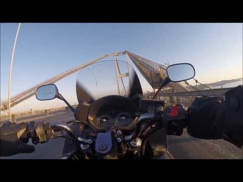 CROSSING THE ISTANBUL BOSPHOROUS BRIDGE 2015