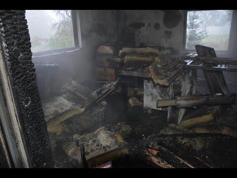 Schreinereiwerkstatt durch Feuer zerstört in Fladungen / Leubach