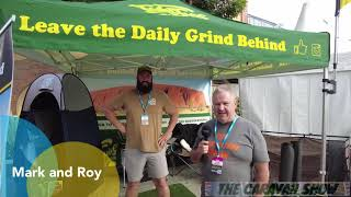 The Caravan Show with Tidy Turf Mats